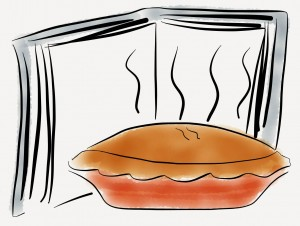 PICTURE Guernsey Potato Peel Pie