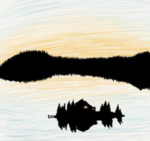 Valancy eventually finds herself a real home or 'blue castle' on a Canadian lake in Montgomery's novel