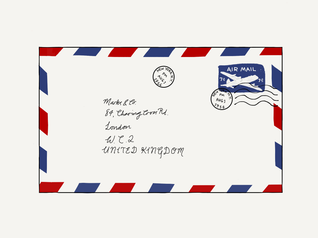 84, Charing Cross Road is the collected correspondence of a woman and her bookseller but that doesn't convey the charm of this trans-Atlantic correspondence...